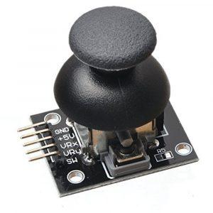 Arduino JoyStick 雙軸按鍵搖桿模組
