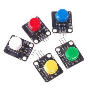 五色大按鈕控制模組 按鍵控制模組