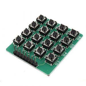 微動開關 4x4 矩陣 16 按鍵/鍵盤模組