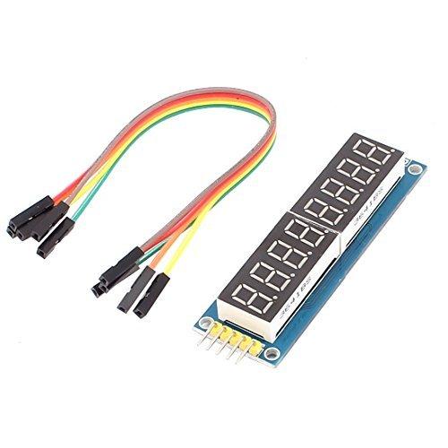 8位 七段顯示器模組 八位 串列控制 595晶片 驅動