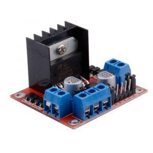 L298N 原裝ST晶片新版電機驅動板 DC馬達驅動模組
