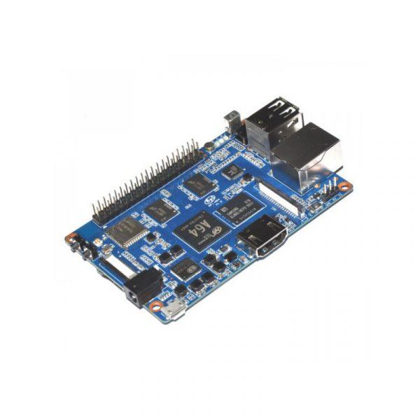 香蕉派 Banana Pi BPI-M64 強悍登場 A64 四核 2GB DDR 8GB EMMC 藍牙