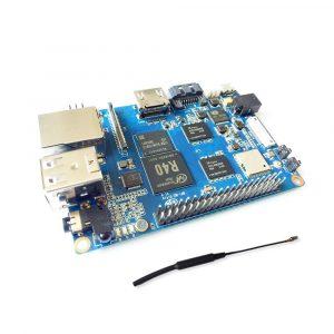 香蕉派 Banana Pi M2 Ultra 全志 R40 四核 2GB DDR 8GB EMMC SATA 藍牙 WIFI  2db 天線
