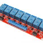 8路5V繼電器模組 光耦隔離 可設定高低電平觸