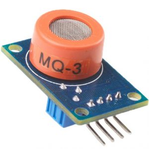 MQ-3 酒精乙醇感測器模組 酒精氣敏檢測報警