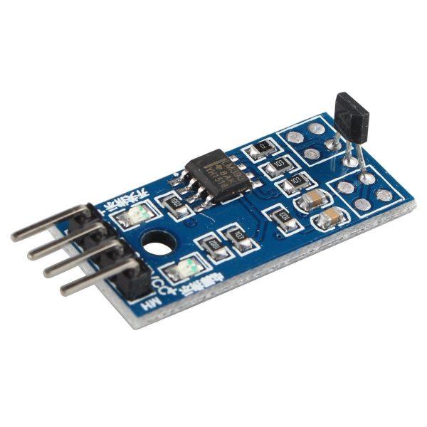霍爾磁性感測器模組 3144E 開關型 電機測速模組