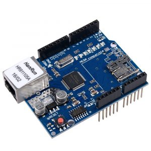 Arduino Ethernet Shield W5100 R3 乙太網路擴展板 網路擴展板 SD卡  支持 Arduino Mega328