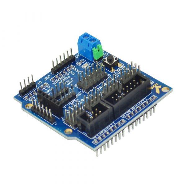 Arduino Sensor Shield V5.0 感測器擴展板  UNO R3 開發神器
