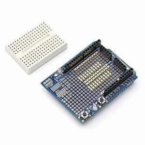 Arduino UNO ProtoShield 原型擴展板 新版本 含麵包板 Proto Shield
