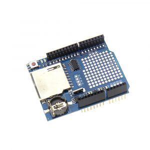Arduino Data Logging shield 數據資料紀錄擴充板 內建時鐘模組