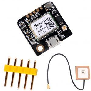 GT-U7 GPS導航衛星定位模組 贈送 IPX有源天線 信號更強 兼容 Arduino NEO-6M 開發不用換程式碼
