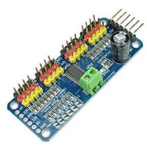 PCA9685 16路 12-bit PWM 控制板 16 路舵機驅動模組 機器人開發利器
