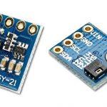 HTU21 數位微型型溫濕度感測器模組 GY-21 溫溼度傳感氣模組 I2C 通訊
