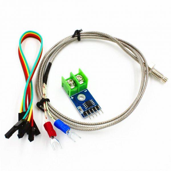 MAX6675 工業型 K型熱電偶 溫度感測器 高溫量測可達 1024度 C