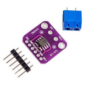 MAX471 電流感測器模組  GY-471 3A量程 精密電流檢測 放大器模組