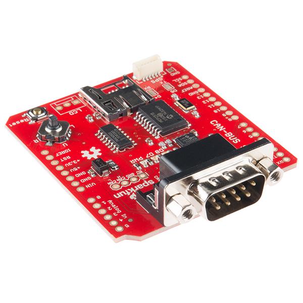 CAN-BUS Shield 控制器區域網路擴展板 美國 SparkFun 原裝進口 非中國製造雜訊多