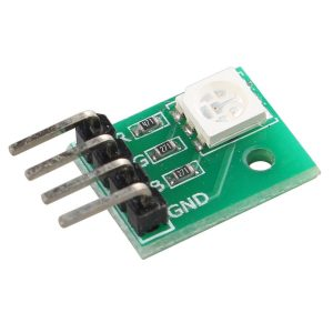 高亮度全彩 5050 RGB LED SMD 模組 可以直插 Arduino 免配線  LED  共陰驅動