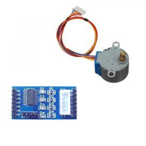 ULN2003 步進電機驅動板+ 5V 4相5線28BYJ-48 全新步進馬達套件組