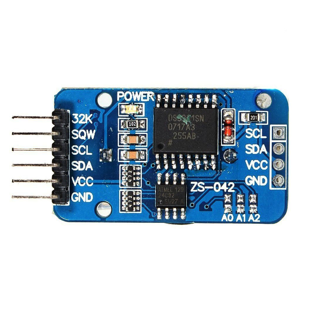 DS3231 AT24C32 高精度時鐘 RTC 模組 IC 通訊 時鐘存儲模組