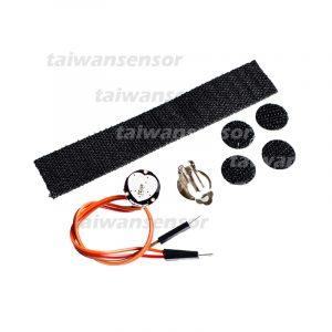 Pulsesensor 脈搏心率感測器模組套件 含官方規格配件 中國副廠