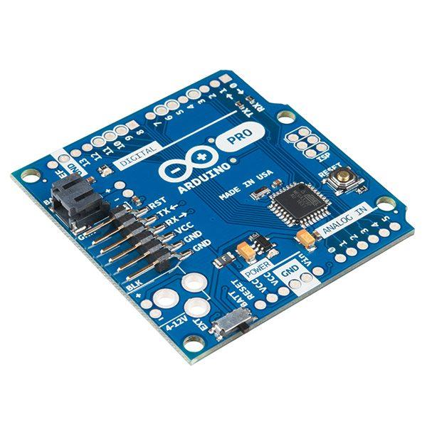 Arduino Pro 328 - 3.3V/8MHz 美國 Arduino.cc 原裝進口開發版 低功耗省電微型 UNO