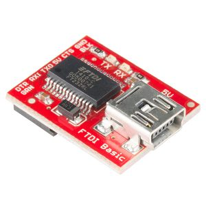Sparkfun FTDI Basic Breakout – 3V FT232RL 晶片 Sparkfun 原裝進口