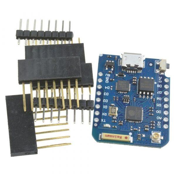 WEMOS D1 mini Pro 基於ESP-8266EX的迷你WiFi 開發板16M快閃記憶體