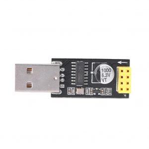 ESP-01s USB轉 ESP8266 WIFI 串口模組 ESP-01 電腦通訊轉換模組
