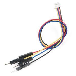 Qwiic Cable - Breadboard Jumper (4-pin) Qwiic 連接線轉杜邦公頭