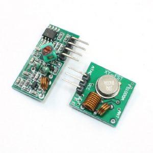 433MHZ RF 無線模組 Arduino 遙控器 433M 含發射與接收模組
