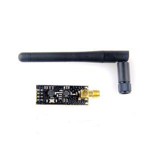 NORDIC原裝 NRF24L01+PA+LNA 含天線 2.4G 無線收發模組 加強型無線模組 1100米