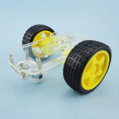 智慧迷你小車底盤 開發套件 小車底盤底座 支架循跡 遙控  兩驅三輪萬向輪 零配件