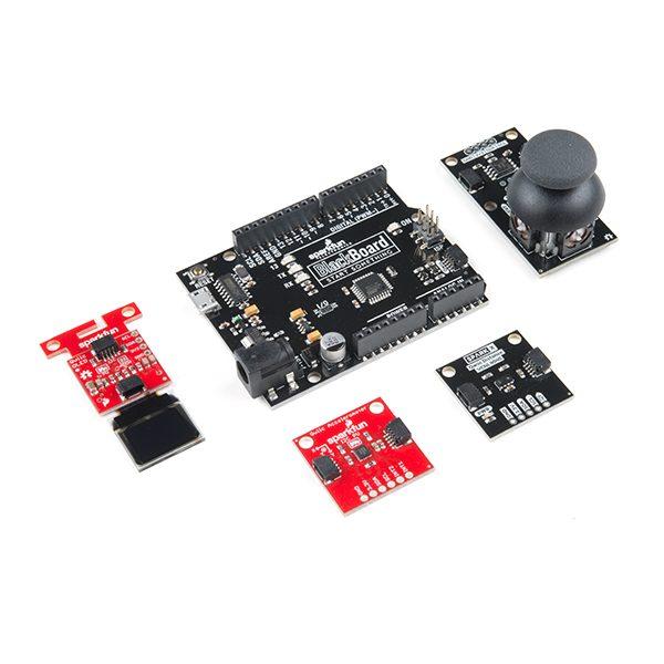 SparkFun Qwiic Arduino 開發學習入門套件 Qwiic Starter Kit  串接各式的感測器