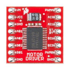 雙TB6612FNG 電機驅動板- (已焊接針腳)