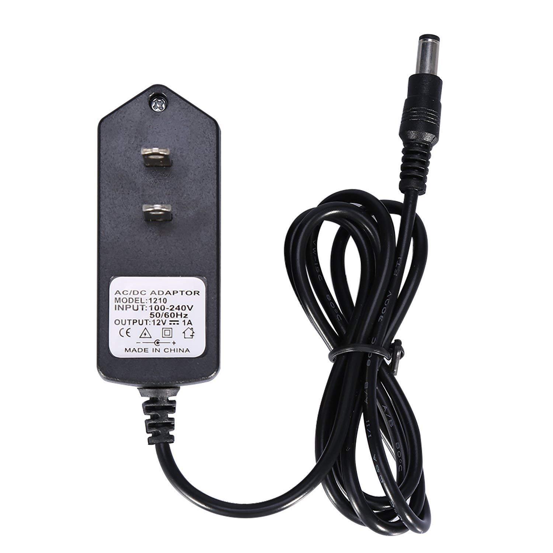 110V 220V 轉 12V 1A 電子式變壓器 電源供應器 LED電源 DC 12V 1A 插頭樣式:5.5*2.1mm