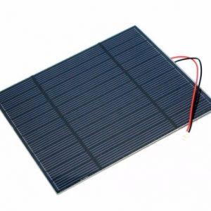 3W Solar Panel 5.5V 單晶矽太陽能電池板 138×160 mm2