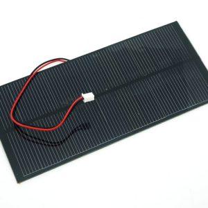 2W 5.5V 單晶矽太陽能電池板 80X180 mm2