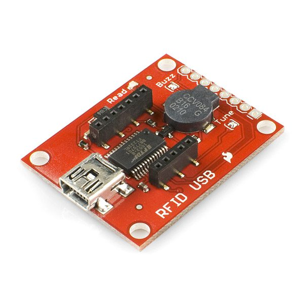 SparkFun RFID USB 串口讀卡器模組 可外掛各種頻率 RFID 解碼晶片 支援 Arduino 樹梅派
