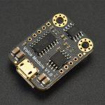 Arduino 串口型 MP3 語音撥放模組 Gravity: UART MP3 Voice Module DFRobot 原裝進口