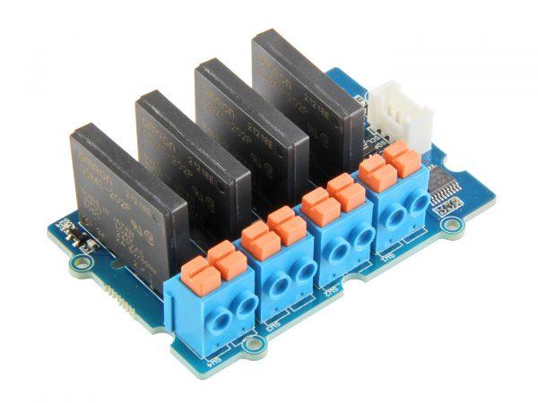 Grove 4 路 SSR 固態繼電器模組 I2C 控制 Grove 4 Channel Solid State Relay