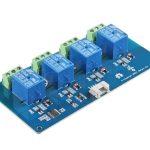 Grove 4路 I2C SPDT 繼電器模組  單軸雙切繼電器 Grove – 4-Channel SPDT Relay