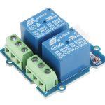 Grove 2 路 SPDT 繼電器模組 單軸雙切繼電器 Grove – 2-Channel SPDT Relay