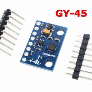 Arduino GY-45 三軸數字傾角感測模組飛思卡爾 MMA8452 晶片模組