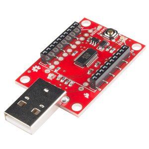SparkFun XBee Explorer Dongle 連接器 SparkFun 原裝進口