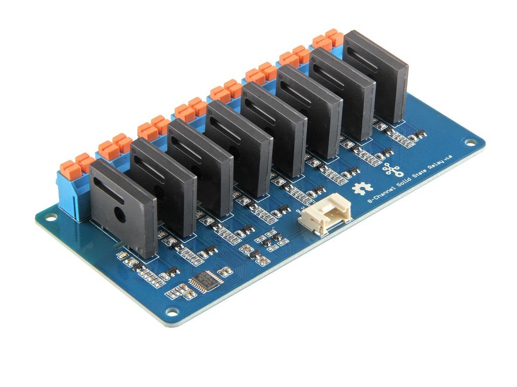 Grove 8 路 SSR 固態繼電器模組