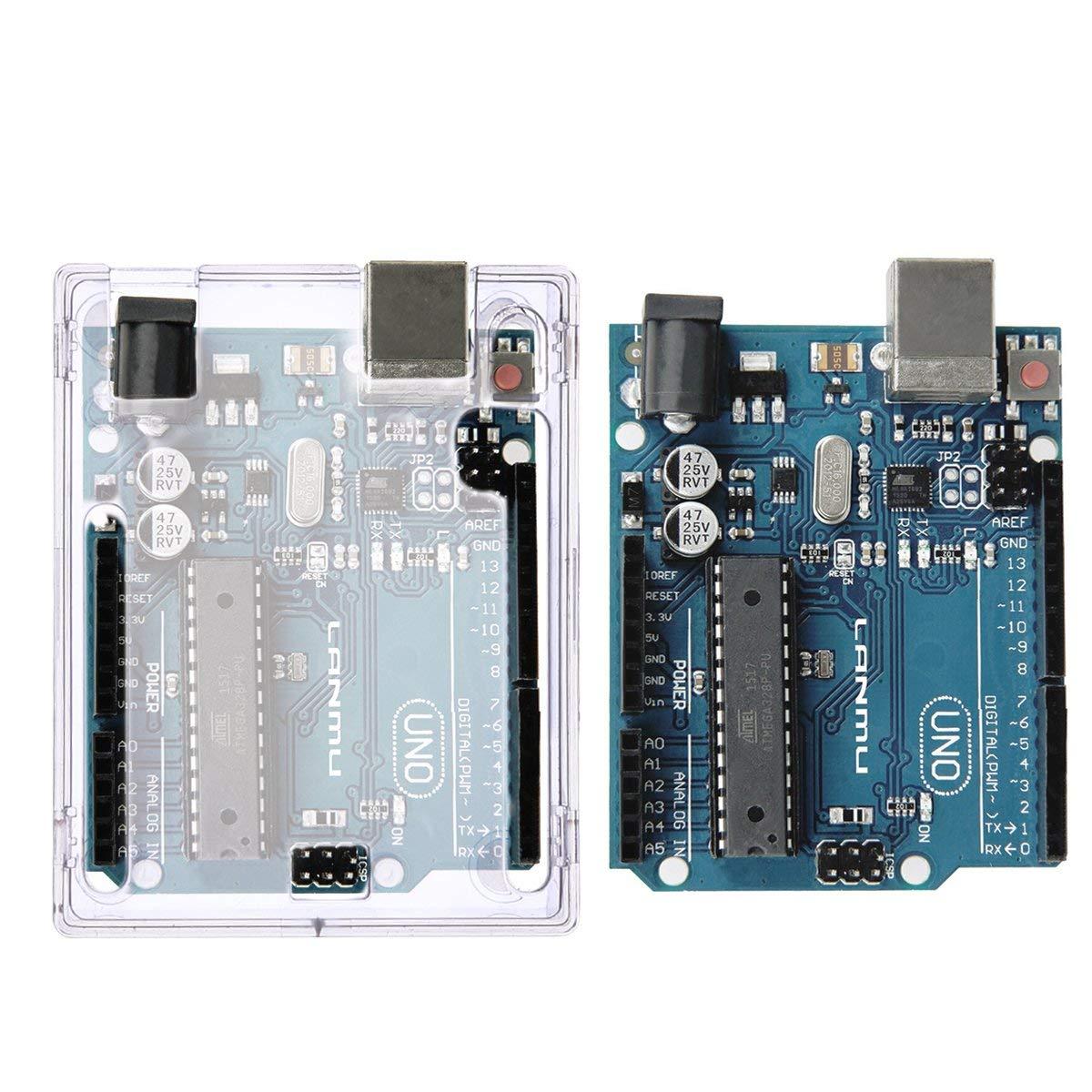 Arduino UNO R3 ABS 一體成形保護殼