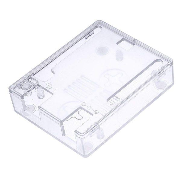 Arduino UNO R3 ABS 一體成形保護殼 可壁掛 可鎖弱電箱 免螺絲方便安全
