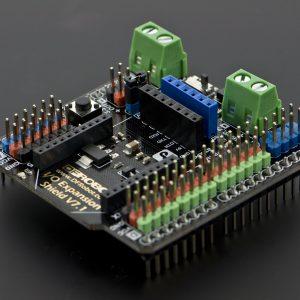 Arduino 感測器 IO 擴展板 V7.1 含藍牙模組插口 Sensor Shield、兼容 DUE、Xbee