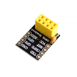 ESP8266 ESP01 ESP01S 麵包板轉接模組 可轉接至 麵包板 PCB洞洞板 針腳無焊接