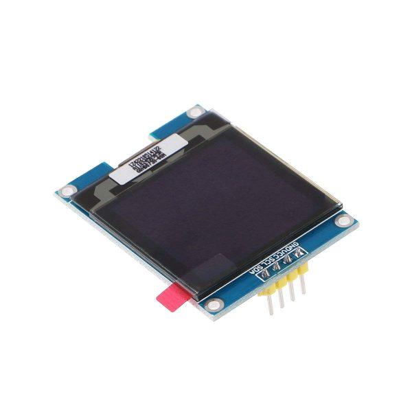 1.5吋 OLED 液晶顯示模組 白字 SSD1327 IC 驅動 I2C 通信 Arduino STM32 可用